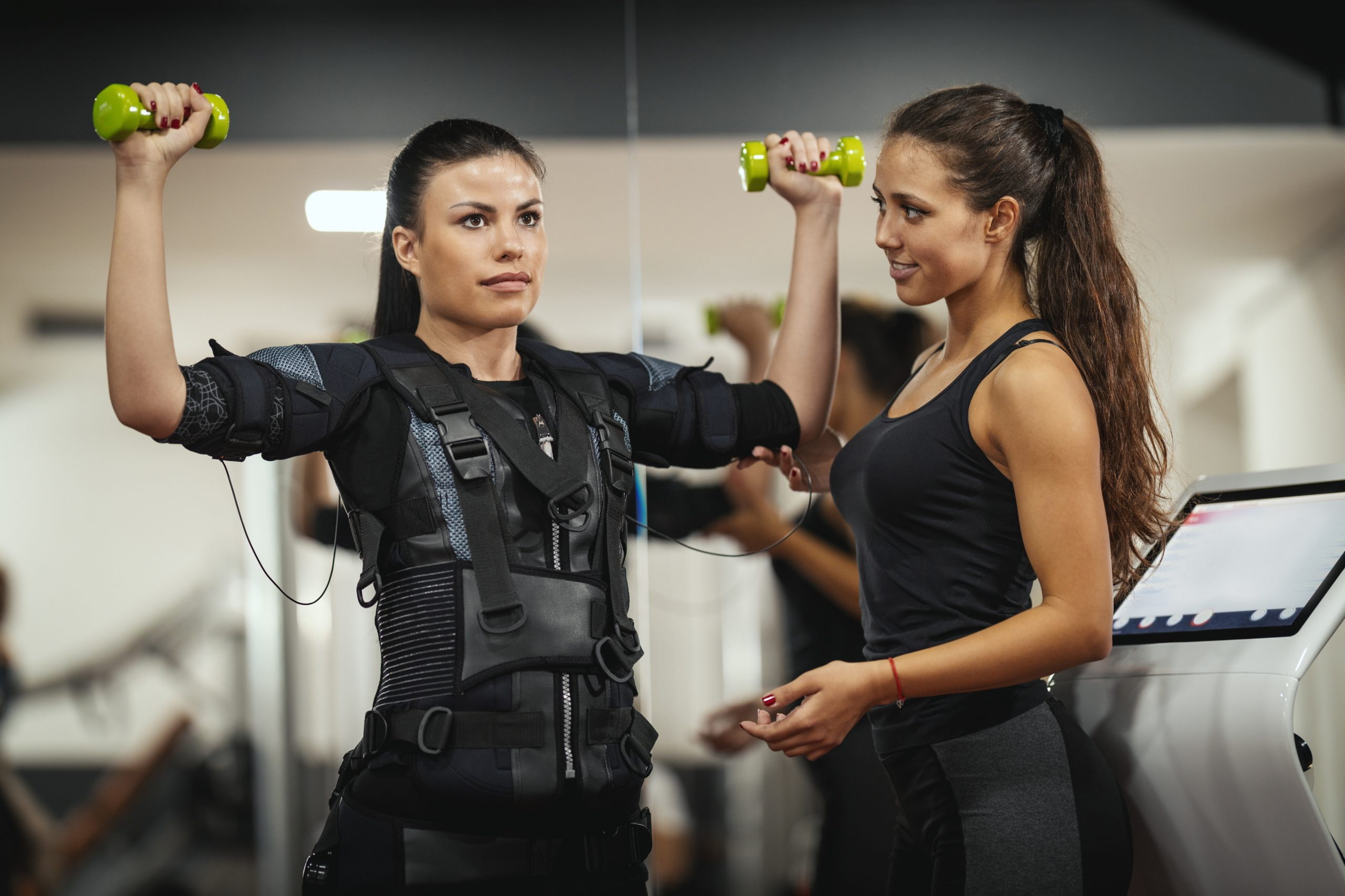 Dig out your Dumbbells with the EMS Training